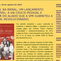 """Livro """"Acorda Amor"""" de Adriana Tanese Nogueira, sábado, na Bienal"""