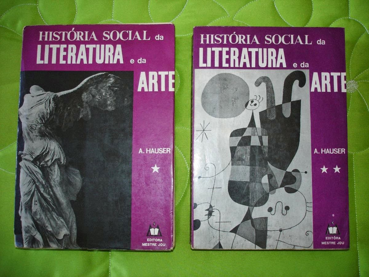 Historia Social Da Literatura E Da Arte Arnold Hauser 1892 1978
