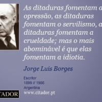 Do que Nada se Sabe - e frases de Jorge Luis Borges